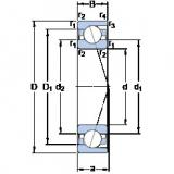 підшипник 71814 CD/HCP4 SKF