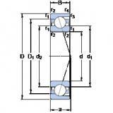 Rodamiento 71816 CD/P4 SKF