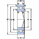 roulements 7024 ACB/P4A SKF